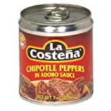 La Costena Chili Chipotle , 8er Pack  (8 x 199 g)