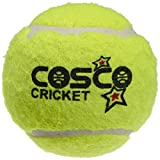 #7: Cosco Light Weight Cricket Ball, Pack of 6 (Yellow)