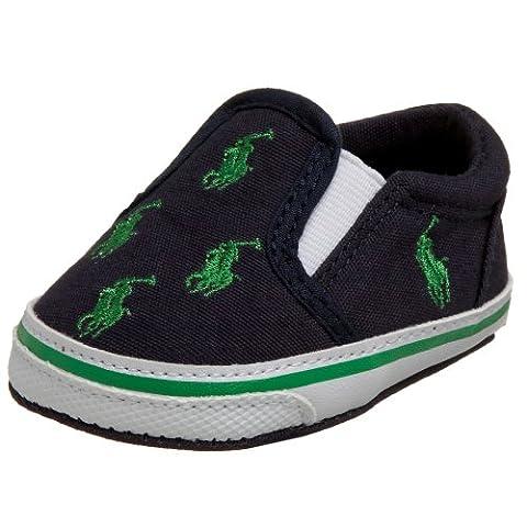 Ralph Lauren Babies' Slip-on shoes Navy/green 9-12m