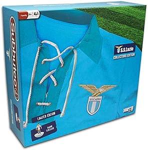 Giochi Preziosi - Subbuteo Lazio Playset Retro con Alfombra de Juegos, 2 Puertas, balón y 22 Jugadores