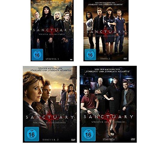 Staffel 1-4 (19 DVDs)