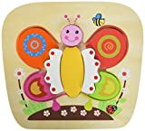 Sun Baby E01.038.1.1 - Holz-Puzzle Butterfly