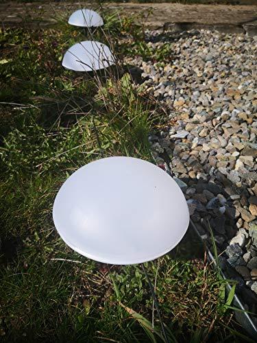 Led-Solar-Halbkugel-Solarlampen-3 x-4 Set 12-Stück -
