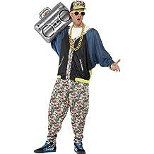 Smiffy's - Disfraz de Hip Hop de los años 80´(43198)