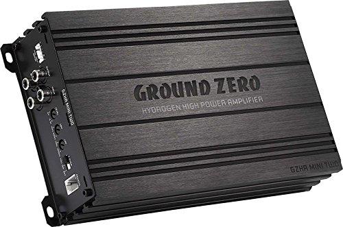 Ground Zero GZHA Mini Two | 2 x 130 W RMS/1 x 550 W RMS à 4 ohms | Super Petit