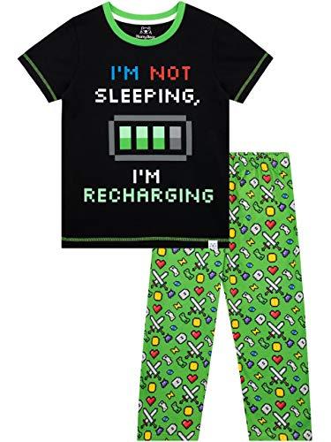 ergie Aufladen Schlafanzug Grün 122 ()