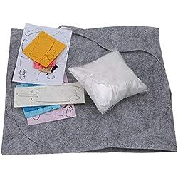 Hyhy Handgemachte Tuch Katze Mauspad DIY Material Paket Freies Schneiden Vlies Nähzeug