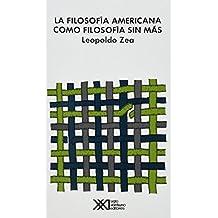 La filosofía americana como filosofía sin más