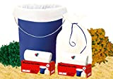 #9: Shalimar Premium (White) Garbage Bags (Medium) Size 48 Cm X 56 Cm 6 Rolls (180 Bags) (Trash Bag/ Dustbin Bag)