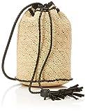 OPUS Damen Schal Abiksa Bag, Beige (Dried Straw 5058), 1