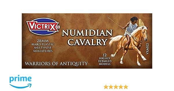 28mm VXA022 Victrix Numidian Cavalry