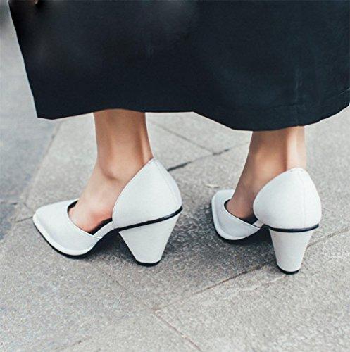 Frau Sommer Sandalen und Pantoffeln mit weiblichen Sandalen spitzen Schuhen geformt white sandals