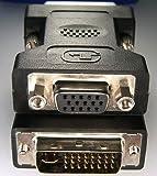 Camelion - Presa Scart con adattatore VGA/DVI-I 24+5 Dual Link 2 pezzi