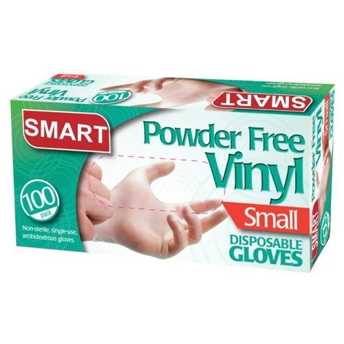 disposable-vinyl-gloves-powder-free-pack-100-food-cleaning-size-small-by-kingfisher