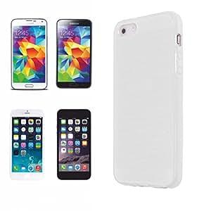 Apple iPhone 5C coque 3D pour impression en sublimation à chaud (-) coque rigide pour smartphone blanc