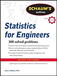 Schaum's Outline of Statistics for Engineers (Schaums' Outline Series)
