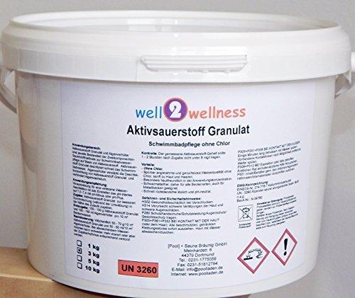 well2wellness Aktivsauerstoff Granulat/Sauerstoff Granulat/O²-Granulat - 3,0 kg