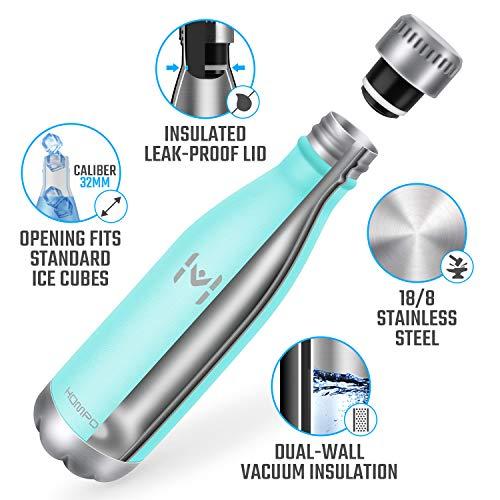 Zoom IMG-3 hompo bottiglia acqua in acciaio