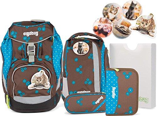 Ergobag Schulrucksack-Set Pack 6-tlg SchnurrBär...