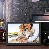 OLDTIME® 12 Pulgadas 1280x800 8GB HD LCD Pantalla Ancha Marco Digital De Fotos Reloj Reproductor De Vídeo MP3 MP4 Con Control Remoto