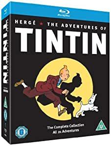 The Adventures of Tintin - Complete Collection - 5-Disc Box Set ( Les aventures de Tintin ) ( The Adventures of Tin tin ) [ Origine UK, Sans Langue Francaise ] (Blu-Ray)