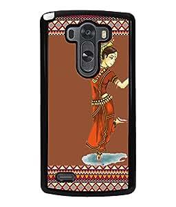 Fuson 2D Printed Dance Designer back case cover for LG G3 - D4187