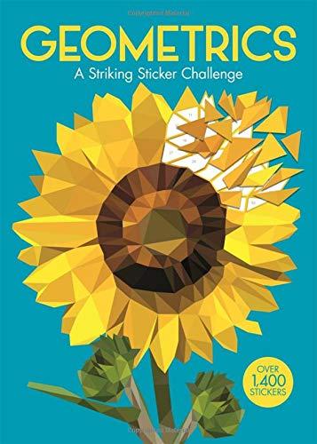 Geometrics: A Striking Geometric Sticker Challenge (Sticker by Number Geometric Puzzles)