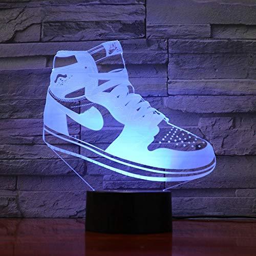 Air Force 1 Kinder Nachtlichter Blei Basketball Schlafzimmer Dekoration Lichter Kinder Jungen Geschenk Tischlampe 3D