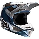 Fox Helm V-1 Motif Blue/Grey, Größe M