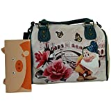 Disney Mammolo River Borsa da Donna Bauletto Bowling a Mano a Spalla - Disney - amazon.it