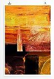 Eau Zone Home Bild - Abstraktes Warmes Bild- Poster Fotodruck in höchster Qualität