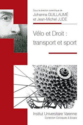 Vélo et droit : transport et sport
