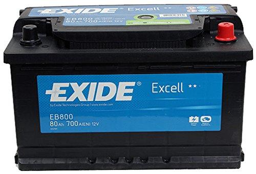 Exide Excell eb800Autobatterie 115SE 80Ah