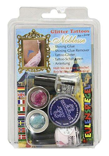 Preisvergleich Produktbild Eulenspiegel Glitzertattoos - Glitzer Tattoo Set Noblesse