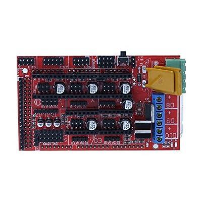 Demiawaking RAMPS 1.4 Controller Board for RepRap Prusa Mendel 3D Printer