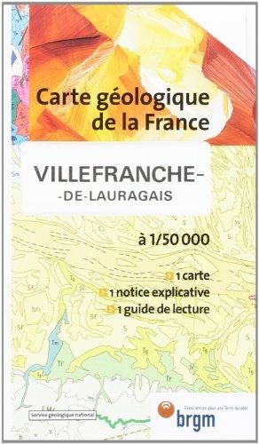 Carte géologique : Villefranche-de-Lauragais