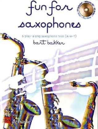 Fun for Saxophones, m. Audio-CD