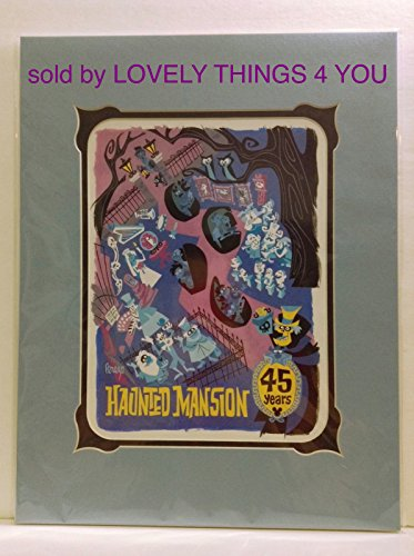 Disney Parks Disneyland der Haunted Mansion 45. Jahrestag -