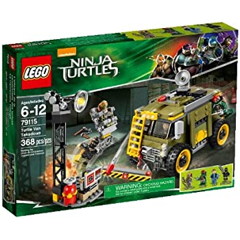 Lego Ninja Turtles  Turtle Van Takedown Building Set