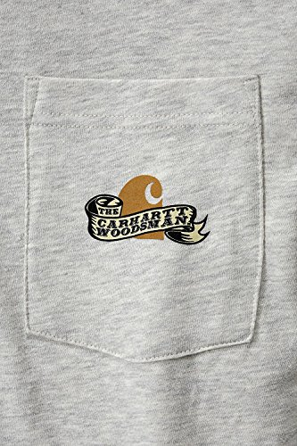 Carhartt Woodsman Graphic Shirt Grau