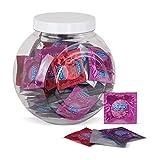 Durex Fun Explosion Kondome – Verschiedene Sorten für aufregende Vielfalt - Verhütung, die Spaß macht – In praktischer Dose zur Aufbewahrung (1 x 80 Stück) für Durex Fun Explosion Kondome – Verschiedene Sorten für aufregende Vielfalt - Verhütung, die Spaß macht – In praktischer Dose zur Aufbewahrung (1 x 80 Stück)