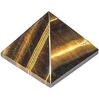 Crocon Tiger Eye Edelstein Pyramide Energie Generator für Reiki Healing Chakra Balancing Aura Cleansing & EMF... preisvergleich bei billige-tabletten.eu