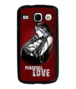 Fuson Perfect Love Back Case Cover for SAMSUNG GALAXY COREi 8262 - D3987