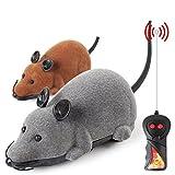 1Pcs drahtlose Fernbedienung RC Auto, Beflockung Ratte Maus Spielzeug für Katzen / Hunde Haustier Kinder elektrische Spielzeug von Enjoystore®