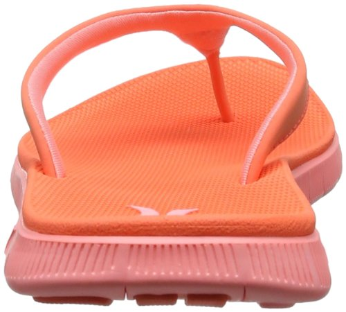 Hurley (Shoes) - Phantom Nike Free Sandal, Infradito Donna Rosso (Rot (Hot Coral))