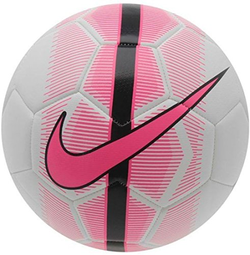 Nike Mercurial Veer Original Football - Size: 5, Diameter: 22.5 cm (Pack of 1, White, Pink, Black)  available at amazon for Rs.1480