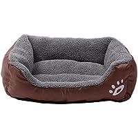 cama mascotas perros rectángulo Sannysis mascotas gatos perros accesorios deportiva perros cama de perrito almohadilla caliente cama para perro casa mascota manta mat