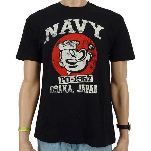 popeye-marine-po-1967t-shirt-noir-noir-s