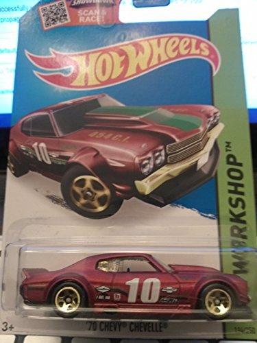 Hotwheels Chevelle 70 Chevy (Hot Wheels HW Workshop '70 Chevy Chevelle 1994/250 2015 Speed Team by Mattel)