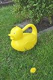 Gießkanne Ente gelb ca. 1800ml Blumengießer Blumengießkanne ca.1,8ltr Deko Ente